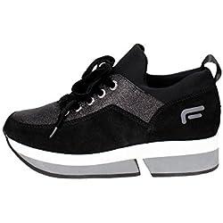 Fornarina PI18SL1080V000 Sneakers Donna NERO 37