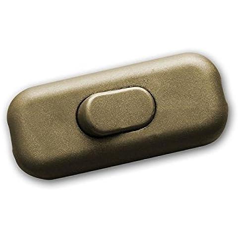 Interruptor tirador interruptor dorado 2A/230V