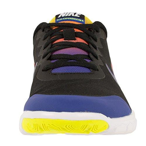 4 Experiência Nike Laufschuhe Azul Herren Profunda Flex gs Noite Impressão Incêndio Preto pEF1SFq