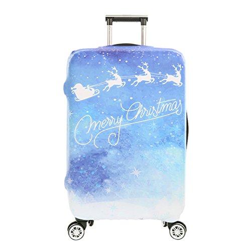 YiJee Protettore dei Bagagli Valigia Borsa Elastica Natale Protettiva Cover per 18-32 Pollici Come Immagine 4 S