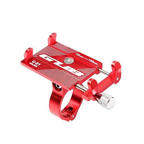 Gub Aluminium MTB Bike/Moto Porta Cellulare Rosso