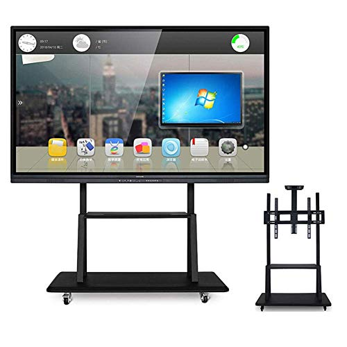 KBKG821 Rolling TV Stand Mobile TV-Wagen, Universal Bracket Wire Management für 43-100 Zoll LED LCD Plasma Flat Panels,43 * 55inch -