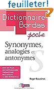 Dictionnaire poche des synonymes, analogies et antonymes