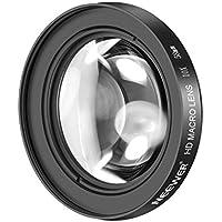 Neewer 58mm 10X Nahaufnahme Makro Objektiv mit HD Mehrschichtiges Antireflex Glas Glass für Canon EOS 80D 70D 60D 50D 1D 7D 6D 5D 5DS T6s T6i T6 T5i DSRL Kameras T3 und SL1
