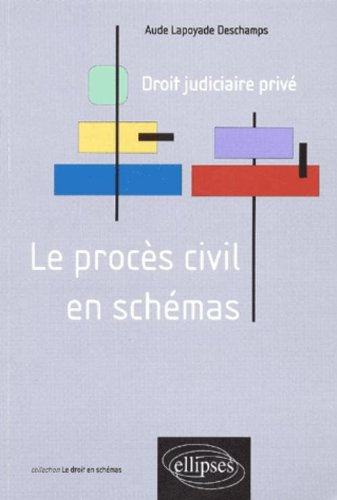 Le procès civil en schémas : Droit judiciaire privé