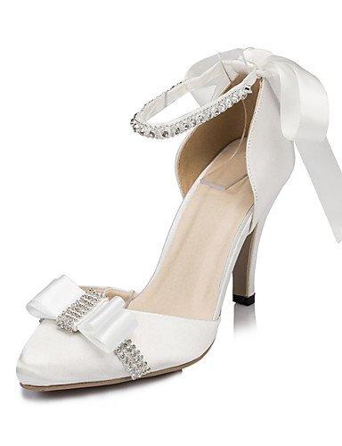 WSS 2016 Chaussures de mariage-Ivoire / Blanc-Mariage / Habillé / Soirée & Evénement-Talons-Chaussures à Talons-Homme 3in-3 3/4in-white
