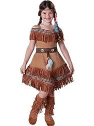 InCharacter Costumes Girl's Indian Maiden Costume, Tan, 6