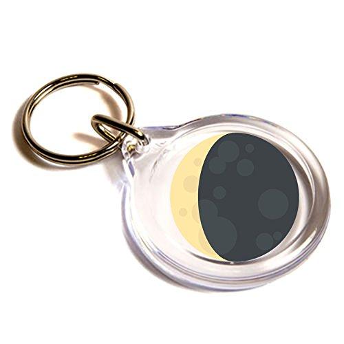 llavero-de-emoji-llavero-personalizado-waning-crescent-moon-symbol-emoji-key-ring