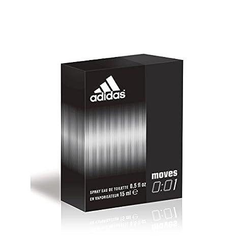 Adidas Fragrance Moves 001 Gift Set (0.5 Ounce Eau De Toilette Value Spray) by adidas