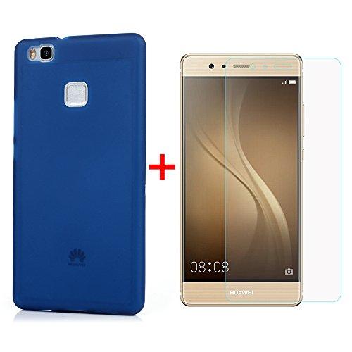Cover per Huawei P9 Lite Custodia Silicone Opaco Mate Ultrasottile Flessibile KASOS Case con HD Pellicola Protettiva Schermo [Non è vetro Temperato] Colore di