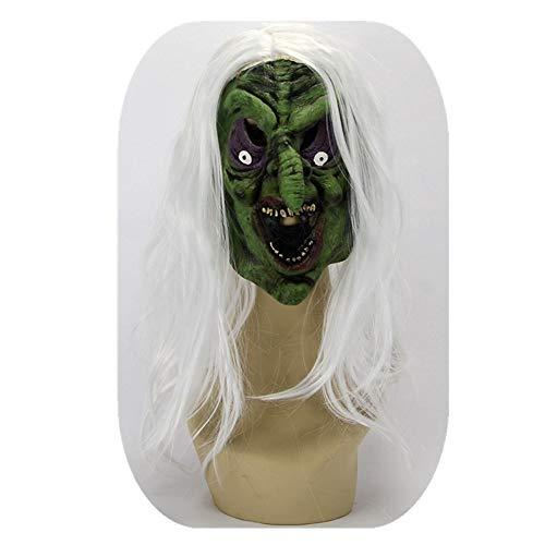 WHLMJ Latex Maske Halloween Geist Geist Horror Blutvergießen Beängstigende Party. Maske