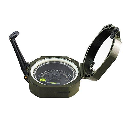 enshey Militär Marschkompass Kompass für Wanderung, Camping, Klettern, Rad fahren