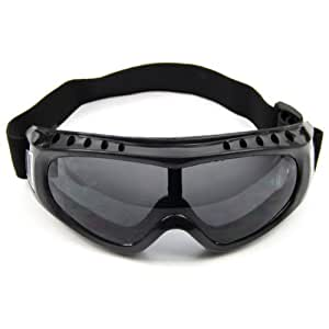 Estone Coated Safety Skiing Goggles Outdoor Sport Dustproof Sunglass Eye Glasses New (Gray)