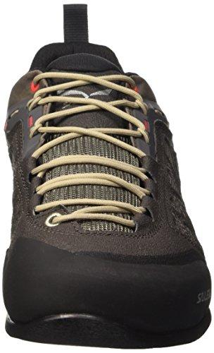 SALEWA Firetail 3, Scarpe da Arrampicata Uomo Multicolore (Black Olive/Papavero 0939)