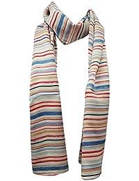Indianbeautifulart New satin de soie longue écharpe à rayures Imprimer Mode  féminine pellicule ... 1839abd69dc
