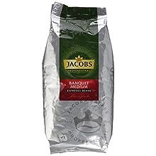 Jacobs Professional Banquet Medium Espresso Kaffeebohnen, 1 kg