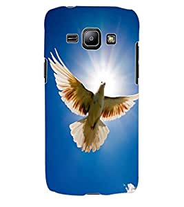 ColourCraft Beautiful Pigeon Design Back Case Cover for SAMSUNG GALAXY J1