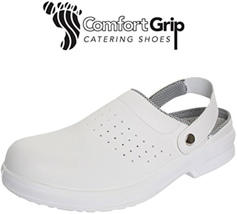 Denny' s s s dk41e-10.5 comfort grip scarpa con tomaia perforata, formato 10.5, bianco | Per La Vostra Selezione  f7e5ba