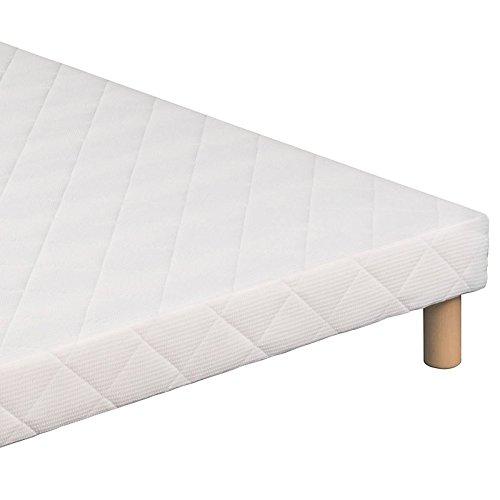 Base per materasso, 160 x 200 cm, 4 piedi