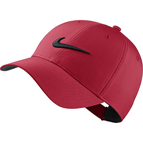 Nike Golfcap Legacy 91, University Red/Anthracite/(Black), One Size, 892651-657 -