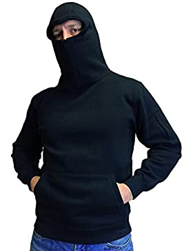 No Face No Name Ninja Zip Hoody Warrior