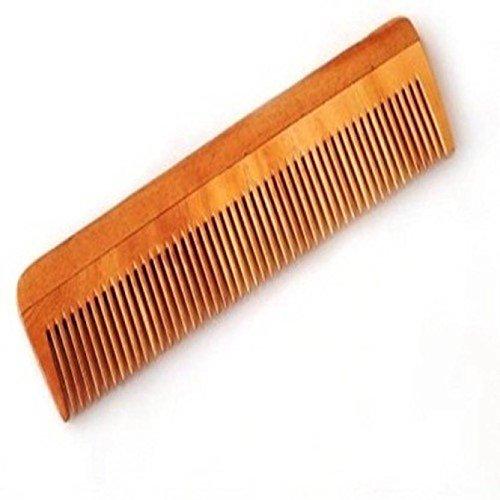 Nanak Ji 100% Anti-Dandruff Neem Wood Comb  available at amazon for Rs.99