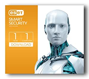 Eset Smart Security (2014) | PC | 1 user | 1 year | digital download [Download]