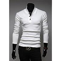 XX&GX di v collare del basamento dimagrimento polo (bianco) , white , xl