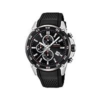 Festina Unisex volwassene chronograaf kwarts horloge met rubber armband F20330/5
