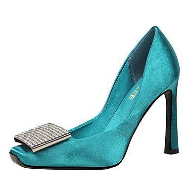 FYios Les talons des femmes Printemps Été Automne Hiver Chaussures Club Bureau Tissu Confort &AMP ; partie de carrière &AMP ; tenue de soirée Stiletto Boucle HeelRhinestone