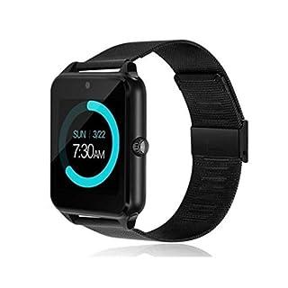 AIMADO Smart Watch Telefon Schrittzähler Bewegungsmelder Remind Sleep Monitor Remote Camera Smartwatches