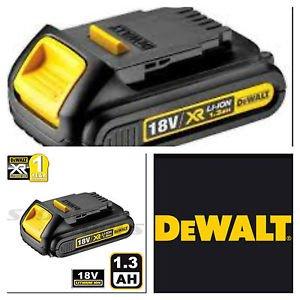 Dewalt 18v Lithium Battery Xr 1.3ah Compatible With All Dewalt Xr Range