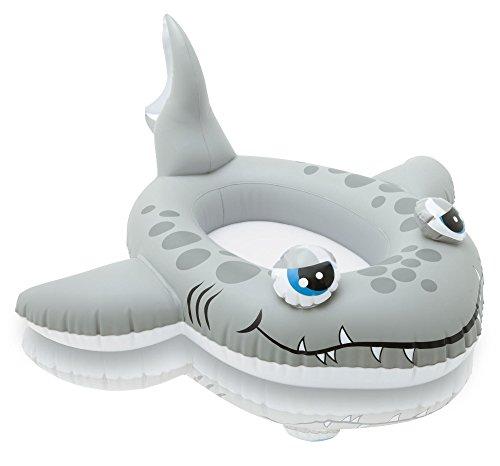 Preisvergleich Produktbild Kinderboot Boot Gummiboot Schlauchboot für Pool Schwimmbad Pool Cruiser (Hai Fisch)