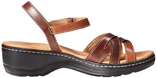 Clarks Hayla Pier Dress Sandal Brown Multi