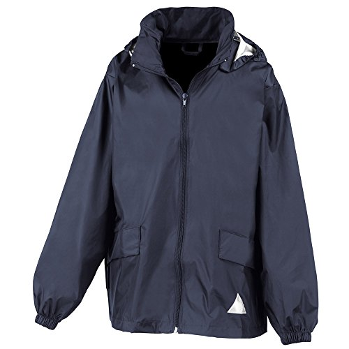 Result Childrens Windcheater Jacket In A Bag Navy
