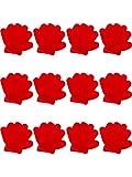 12 Paia Bambino Guanti Bambini da Inverno Guanti a Maglia Guanti per Bambini Ragazzi Ragazze Inverno Usando (S, Rosso)