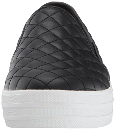 Skechers Damen Double up-Duvet Slip on Sneaker, Schwarz (Black), 37 EU