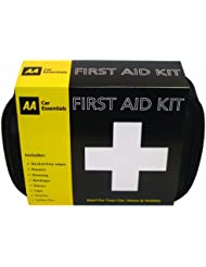 AA Car Essentials Botiquín de Primeros Auxilios (Estuche Blando)
