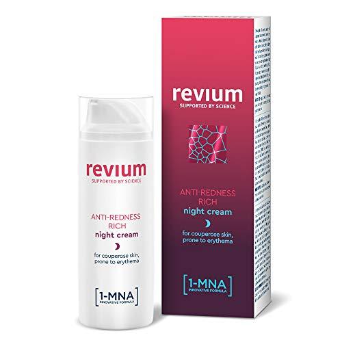 Revium - Crema noche enriquecida antirrojeces pieles
