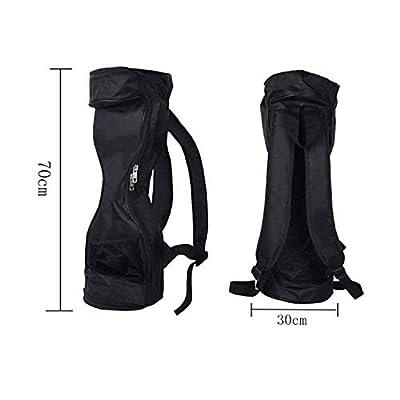 Hoverboard Bag Scooter Rucksack Rucksack wasserdicht langlebig modische Tasche für 16,5cm und Zwei selbstbalancierende Rollen schwarz Artikel für Sport [Misc.]