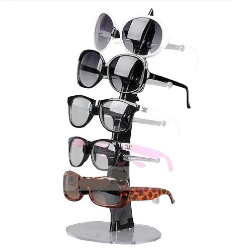 nuoya005-balck-5-pair-of-eyeglasses-sunglasses-glasses-sale-show-display-stand-holde