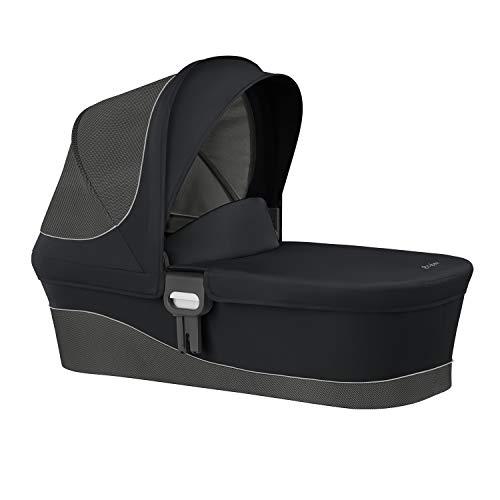 CYBEX Gold Kinderwagenaufsatz Cot M, Ab Geburt bis 6 Monate (9kg), Lavastone Black