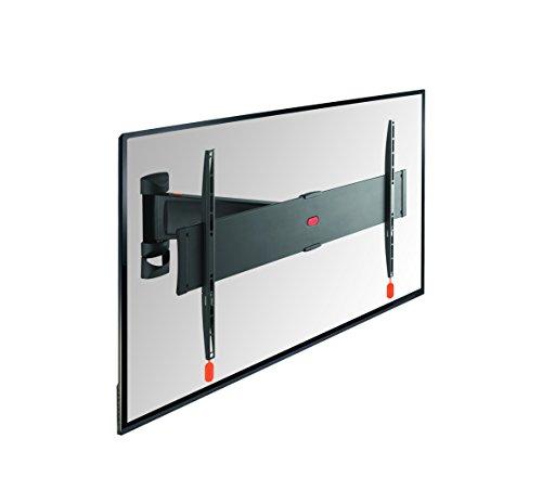 Vogel's BASE 25 L TV-Wandhalterung für 102-165 cm (40-65 Zoll) Fernseher, 120° schwenkbar, max. 45 kg, Vesa max. 600 x 400, schwarz