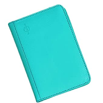 ducomi® Dokumenthalter Unisex Kompakte Reise-Reisepass, Bargeld und Kreditkarten–Technologie RFID inklusive, türkis