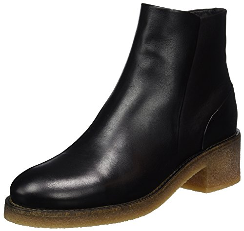 Buffalo London Damen ES 30949 Sauvage Stiefel, Schwarz (Preto 01), 39 EU