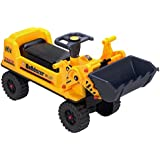 deAO Vehículo Tractor / Excavador Corre Pasillos – Camión de Construcción – Andador de Equilibrio