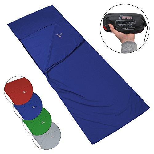 ALPIDEX Microfibra Forro de la Bolsa de Dormir Saco sábana Interior para Saco de Dormir