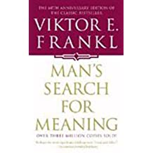 Man's Search For Meaning by Frankl, Viktor E. (1997) Mass Market Paperback