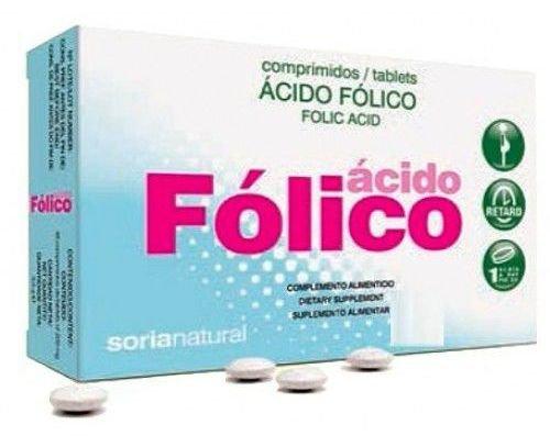 Soria Natural Retard Acido Fólico - 48 Comprimidos