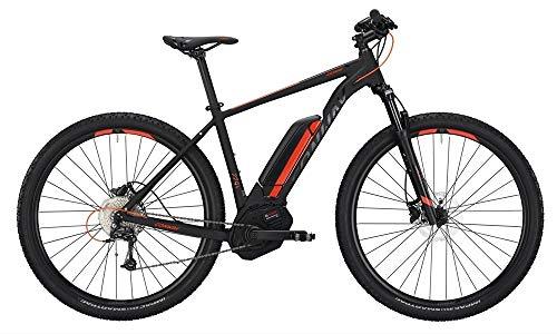 Conway EMC 229 SE 500 Herren E-Bike 500Wh E-Mountainbike Elektrofahrrad Black matt/orange 2019